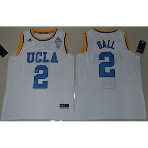 UCLA Bruins Lonzo Ball White Jersey